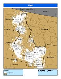Idaho Montana Map by Noaa Weather Radio Idaho