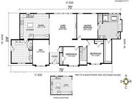 3 bedroom mobile home floor plans mobile homes double wide floor plan beautiful the trumh dempsey