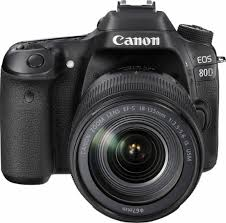 canon eos 80d dslr with 18 135mm is usm lens black 1263c006