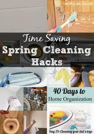 Housekeeping Tips 18 Time Saving Spring Cleaning Hacks U0026 Free Printable Checklist