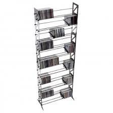Rek Bookcase Cd Racks U0026 Storage Made In America Boltz Steel Furniture