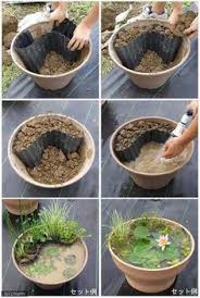 How To Make A Patio Pond Solar Powered Pond In A Pot Kit With 72cm White Planter And