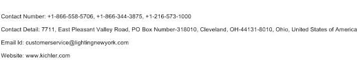 Kichler Lighting Cleveland Ohio Kichler Lighting 1800 Customer Service Phone Number Toll Free