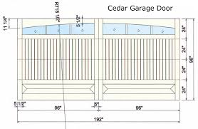 garage doors garage door opening sizes standard height feet non