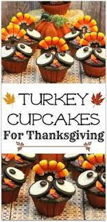 thanksgiving turkey cupcakes food thanksgiving