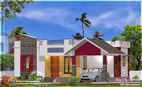 stylish 900 sq ft new 2 bedroom kerala home design with floor plan