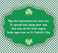 luck o the on st s day
