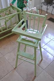 Wooden Doll High Chair Doll High Chair Diy Confessions Of A Blonde Mom