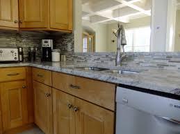 blue tile kitchen backsplash interior absolutely smart kitchen glass and stone backsplash kitchen