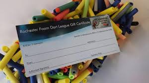 play gift card discount open play discount rochester foam dart league