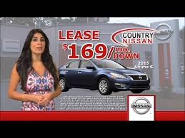 nissan altima 2015 for lease country nissan super september sale youtube