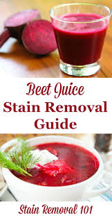 Remove Wax From Fabric Upholstery How To Remove Beet Juice Stains Juice