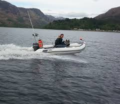 avon searider 4m rib with mariner 20hp in fort william highland