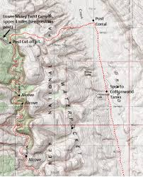 capitol reef national park map lower muley twist and hamburger rocks capitol reef