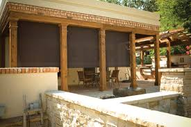 Outdoor Patio Pull Down Shades Oasis 2800 Patio Shades