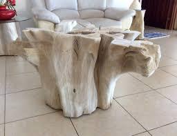 great idea tree trunk coffee table derektime design