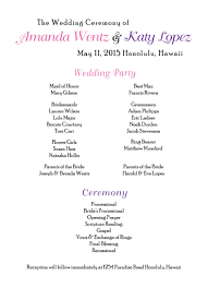 program for wedding lgbt wedding invitations program wedding dress invitations by r2