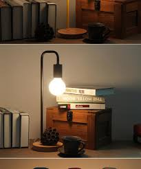 lighting for reading room color simple nordic table l e27 holder study room desk light wood