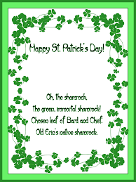 st patrick day cards free printable greeting cards