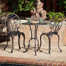 Patio Bistro Sets On Sale by Amazon Com Best Selling Charleston Aluminum Copper Bistro Set