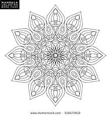 601 mandala images coloring books