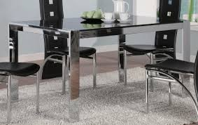 tinted glass table top broward rectangular dining table with tinted glass by coaster by
