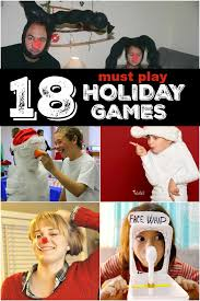 Easy Christmas Games Party - 18 christmas games for families to have the best time ever all