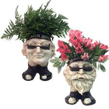 face planters homestyles 13 in h biker dude and antique white muggly face