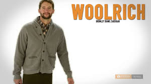 woolrich bromley shawl cardigan sweater for men youtube