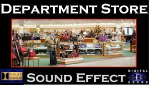 department store sound effect department store sfx hd youtube