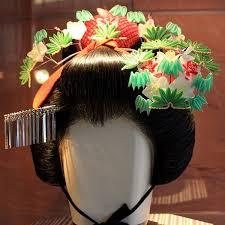 Geisha Hairstyles 57 Best Kanzashi Japanese Hair Ornaments Images On Pinterest