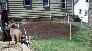 How To Regrade A Backyard Improving Drainage By Adding Dirt Vs Regrading Adding French
