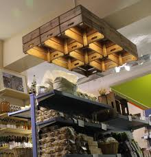 real food store farm shop design retail lighting store