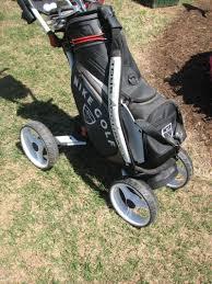 golferpal easypal power folding push cart three guys golf