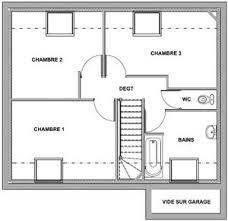 plan d une chambre plan maison etage 2 chambres 13 a meuble 17781 lzzy co
