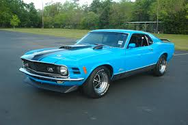 Mustang Mach One 1970 Ford Mustang Mach One 5 Speed