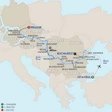Passau Germany Map by Avalon Luminary Ship Avalon Waterways
