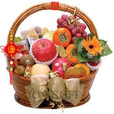 new year gift baskets new year fruit