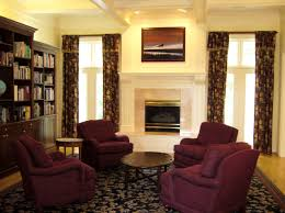 decorating a living room with burgundy accents google search