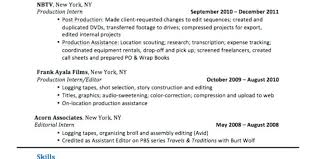 sample copy editor resume sample resume copy editor