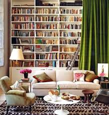 home library decor creating a home library that u0027s smart and pretty