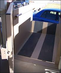 go vertical with a porch lift or platform lift to get a wheelchair