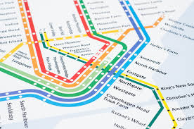 Dc Neighborhood Map Copenhagen S Train U0026 Metro Map Literal English Translation