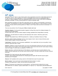 how to write chicago style paper ap style quick guide by writing center issuu