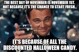 November Meme - leonardo dicaprio cheers meme imgflip