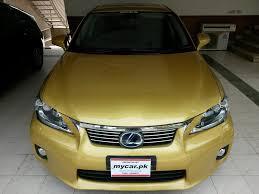 lexus ct200 yellow mycar pk