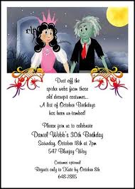 42 best halloween party invitations images on pinterest