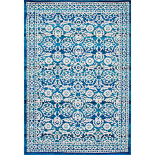 Teal Area Rug Home Depot Nuloom Turnbull Dark Blue 9 Ft X 12 Ft Area Rug Rzbd05a 9012