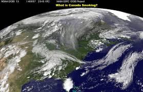 Canada Wildfire Smoke Usa by Goes 13 Results