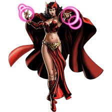scarlet witch costume comics